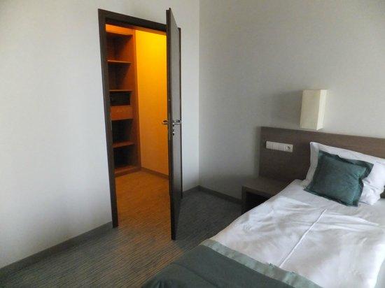 Baltic Plaza Hotel Medi SPA: Osobna garderoba z sejfem