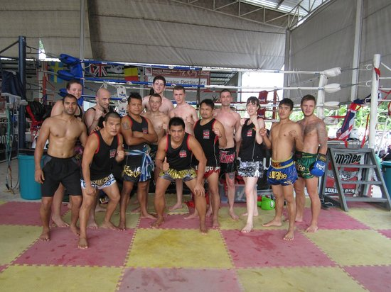 Sumalee Boxing Gym: Photo after training