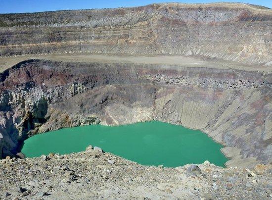 Santa Ana Volcano : Santa Ana crater
