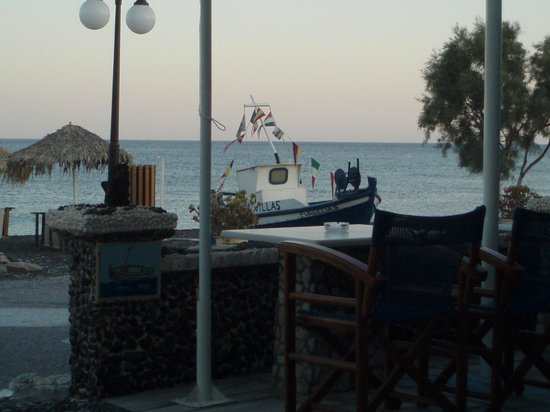 lovely view from Stavros taverna
