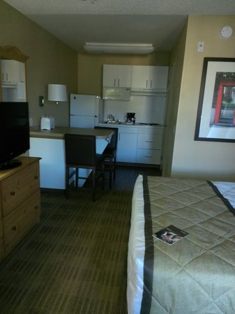 Extended Stay America - Orange County - Irvine Spectrum: Roomy and clean