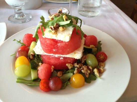 Pier House : Feta and Watermelon salad