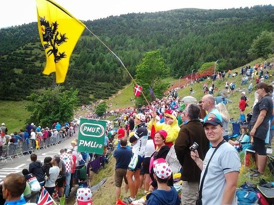 Les Villages Clubs du Soleil Oz en Oisans : Tour de France 2013 (ambiance)