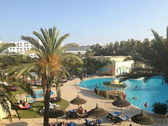 Hotel Almaz: Parfaite situation de notre chambre