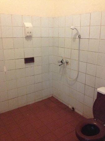 Lakeview Ecolodge: salle de bain vétuste