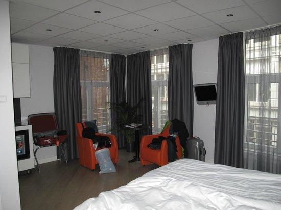 Hotel Amsterdam - De Roode Leeuw: camera superior