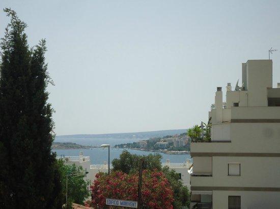 Hotel Mirablau : uitzicht vanuit kamer 316