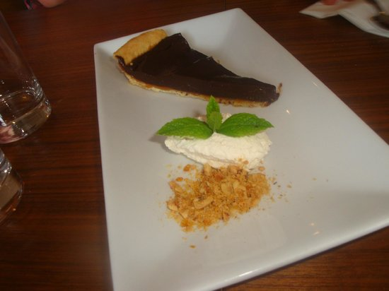 Amber Restaurant at the Scotch Whisky Experience: Chocolate torte