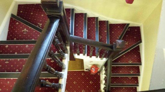 The Langham Hotel: ...scale un po' troppo strette...