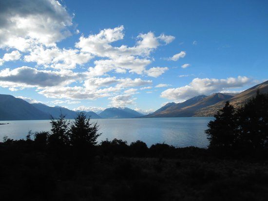 Lake Ohau Lodge: View from the balcony