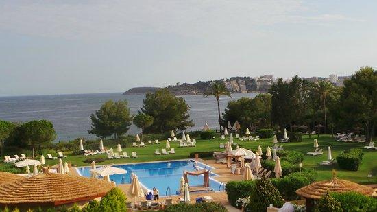 The St. Regis Mardavall Mallorca Resort: Blick aus dem Fenster