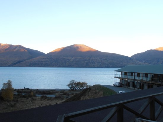 Lake Ohau Lodge: View from the balcony