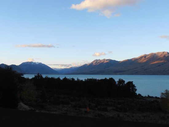 Lake Ohau Lodge: The view from the balcony