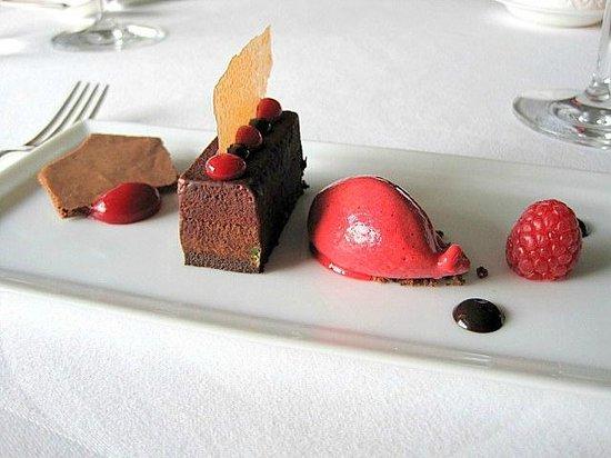 Martin Wishart at Loch Lomond: One of the Desserts