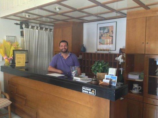 Blue Bay Hotel : Very friendly and helpful staff