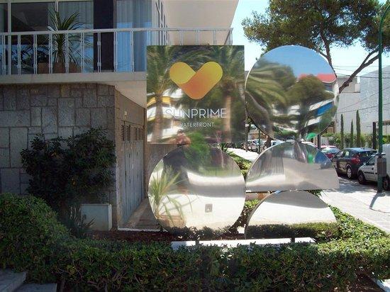 Sunprime Palma Beach : Hotellskylt