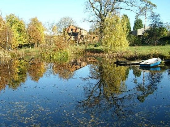 Hall Farm B&B: .rowing boat