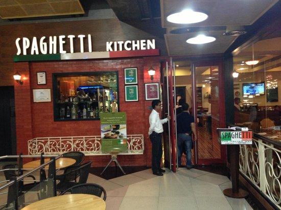 Spaghetti Kitchen : Spaghetti