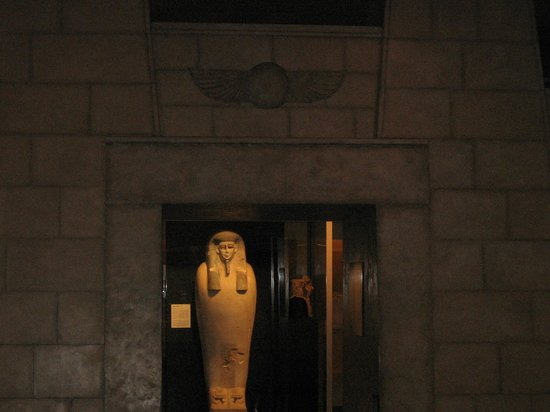 Yale Peabody Museum of Natural History: Egyptian exibit