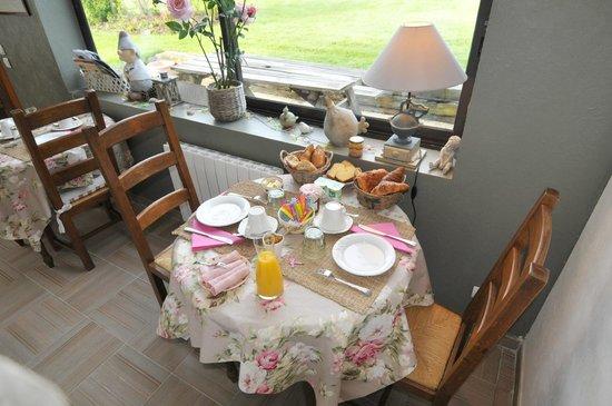 Le Pressoir du Mesnil: Le petit déjeuner