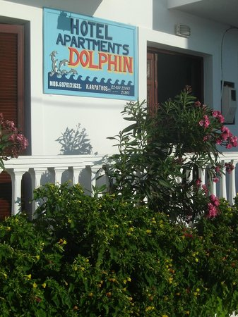 Dolphin Apartments: l'ingresso