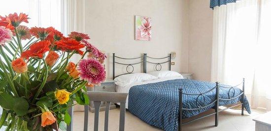 Villa Hotel del Sole : camere climatizzate e accoglienti