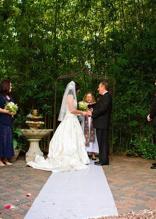 wedding garden on site picture of crystal river inn san marcos