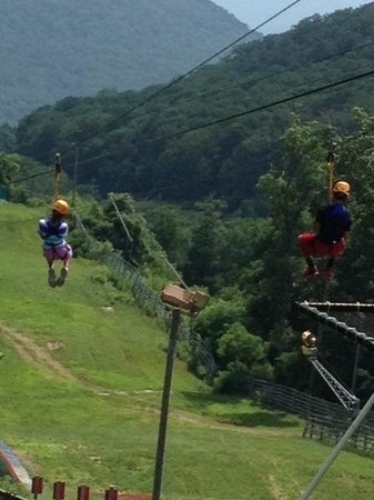 Wintergreen Resort: Zip Line