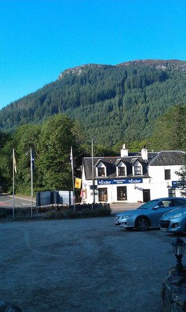 Glenmoriston Arms Hotel: View across the road from front door