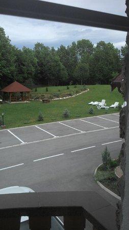 Restoran-Pansion Plitvicka Sedra: Blick aus dem Zimmer