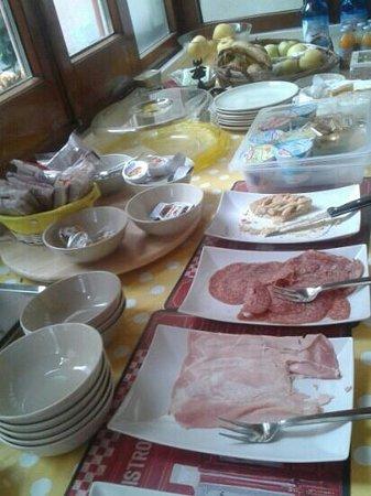 Hotel San Desiderio : abbondante colazione
