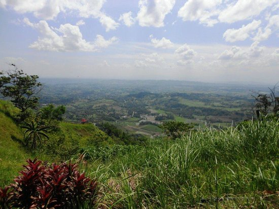 Seagull Mountain Resort: view from Bukidnon Overview