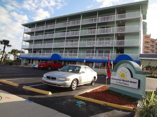 Clearwater Beach Hotel: Fachada