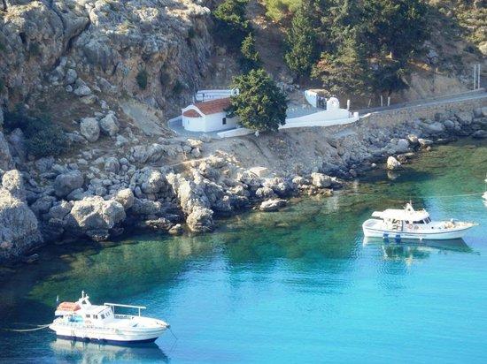 Picture of Agios Pavlos Beach (Saint Paul), Lindos ...