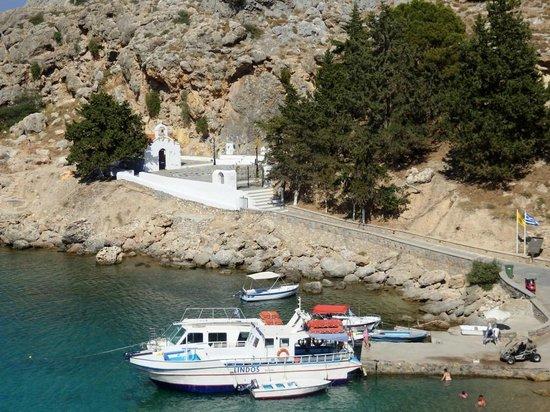 Agios Pavlos Beach (Saint Paul): St. Pauls Kapelle