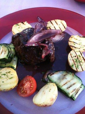 De Pasta: Fillet Steak with red wine reduction. best steak I have tasted.