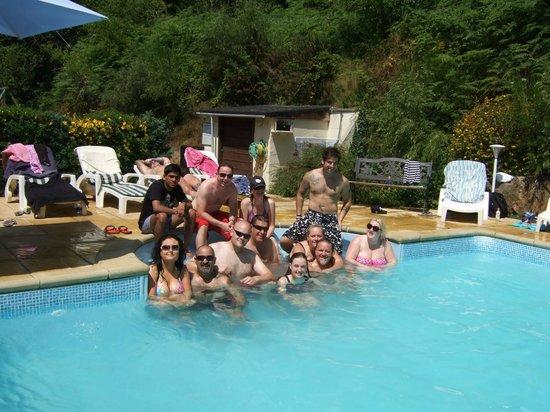 Le Moulin de la Touche : The pool.