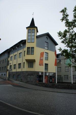 """Hotel Reykjavik Centrum: Hotel, showing """"turret room"""" - my description"""