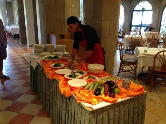 Grecotel Rhodos Royal : buffet