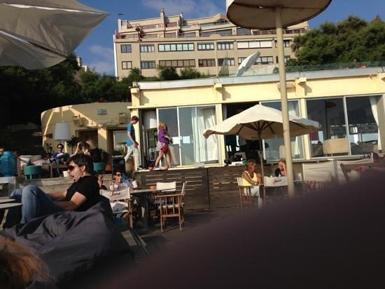 Praia da Luz: het restaurant