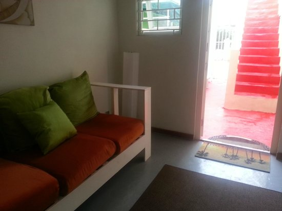 Mustique Suites Curacao: Lobby area