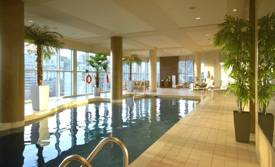 Hotel Le Crystal: Indoor Pool