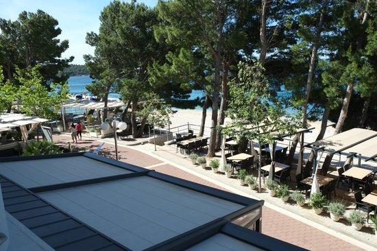 Milenij Hotel : Ausblick vom Balkon