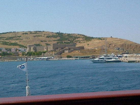 """Latife's Boutique Hotel: Arriving to Bozcaada by """"Feribot"""" from Geyikli"""
