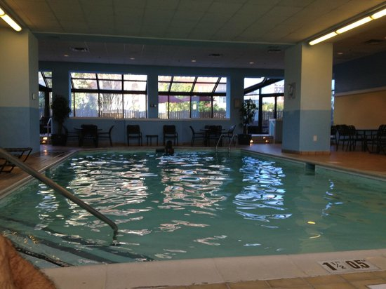 Richmond Marriott: Indoor Pool