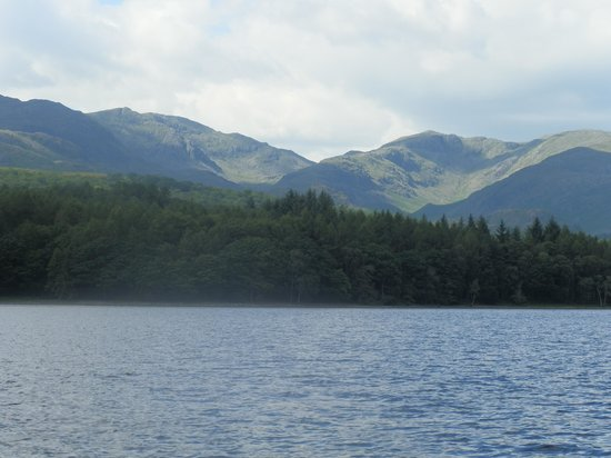 Kirkby in Furness, UK: On the lake at Coniston