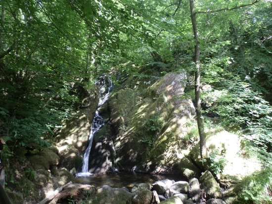 Kirkby in Furness, UK: Waterfalls at Ambleside