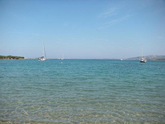 Camping Village Capo d'Orso : Punto di vista spiaggia