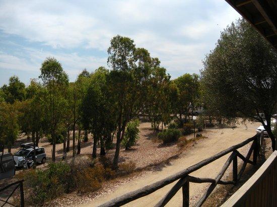 Camping Village Capo d'Orso : Panorama dalla casetta