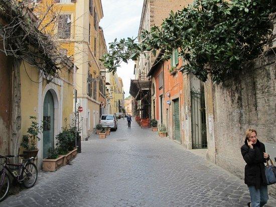 East of Via del Corso